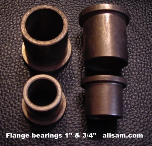 Alisam Bronze Flanged Bearings 3/4 inch