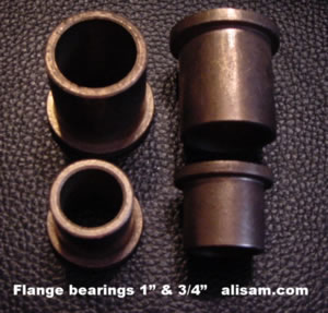 Alisam Bronze Flanged Bearings 1 inch