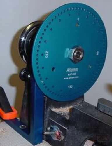 "Alisam Engineering Small 7"" Indexing Wheel 3/4 inch spindles"